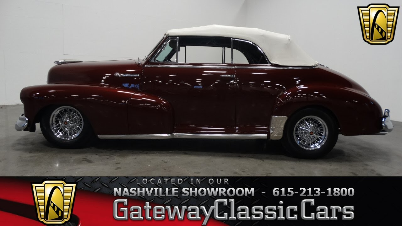 1948 chevrolet fleetmaster convertible, gatway classic cars