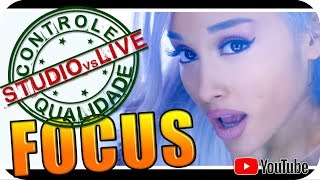 ARIANA GRANDE - Studio vs Live CONTROLE DE QUALIDADE Reagindo React Reação Pop Dance R&B