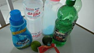 FAXINA: Misturas caseiras que eu uso na limpeza