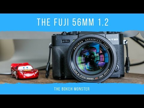 The Fuji 56mm 1.2 The BOKEH MONSTER!!