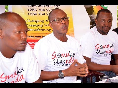 Sisimuka Uganda Press Conference held at Sheraton