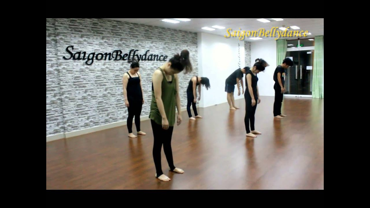 Safe & Sound | Lớp học Múa Đương Đại | Contemporary Dance class at SaigonBellydance