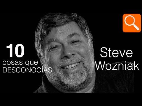 10 cosas que DESCONOCÍAS de Steve Wozniak