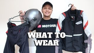 MY MOTORCYCLE PROTECTIVE GEARS│Invest on Safety│Decide What Fits You