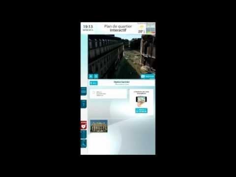 ViaDirect City, plan et information de quartier interactifs pour borne tactile