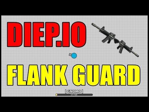 Diep.io #3 - Jogando de Flank Guard  (Viramos um OCTO TANK)  (HD)