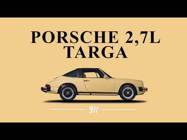 Porsche 911 2,7LS Targa 1977