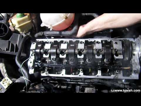 Запуск двигателя VOLKSWAGEN 2.5 TD после замены распредвала