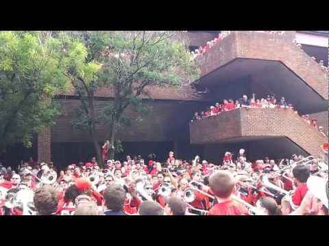 UGA redcoats marching band