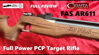 Chiappa Firearms .22 - FAS AR611 - (Full Review) FAS 611 PCP Target Rifle