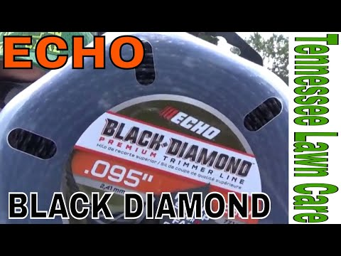 "ECHO Black Diamond Premium Trimmer Line Review ""Tennessee Lawn Care"