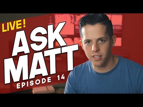 WHEN to Launch Your 2nd Product? (+ WHY I'm Building a Personal Brand) LIVE Q&A - Ask Matt ep. 014