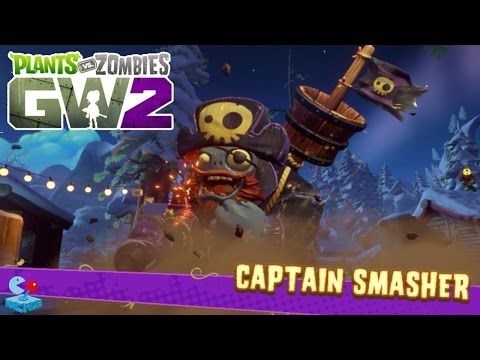 Plants vs. Zombies Garden Warfare 2 - Defeat Captain Smasher! The Pirate Zombie Boss
