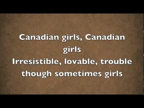 Canadian Girls - Dean Brody with Lyrics