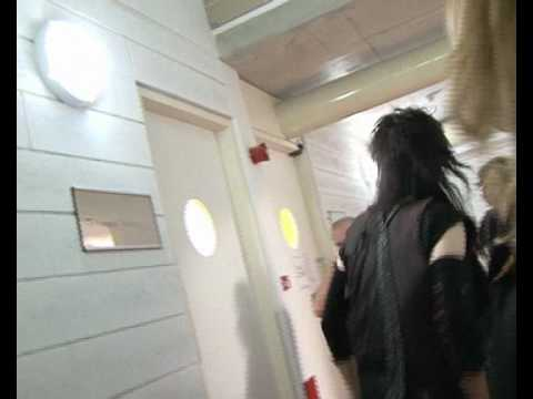 Alice Cooper in Cyprus backstage part 1