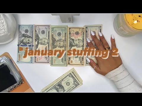 🌿 STUFFING MY CASH ENVELOPES | my small business income