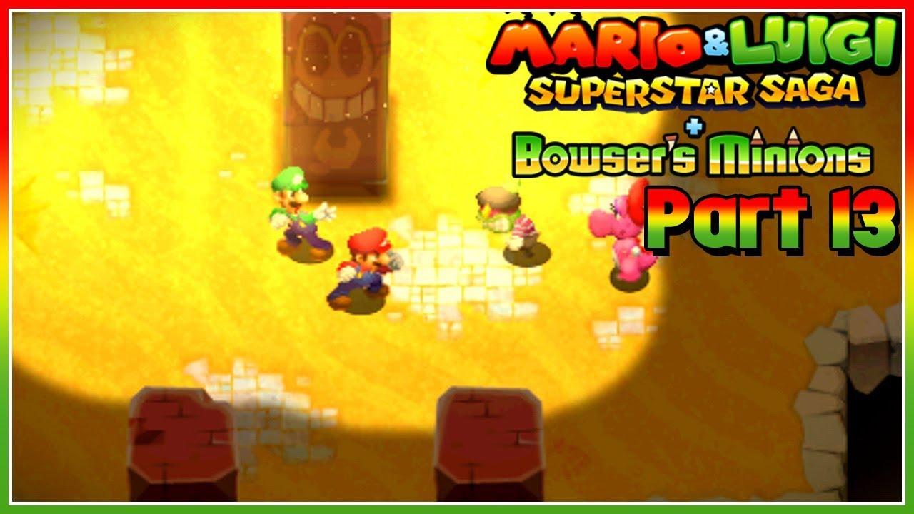 Mario Luigi Superstar Saga Bowser S Minions Part 13