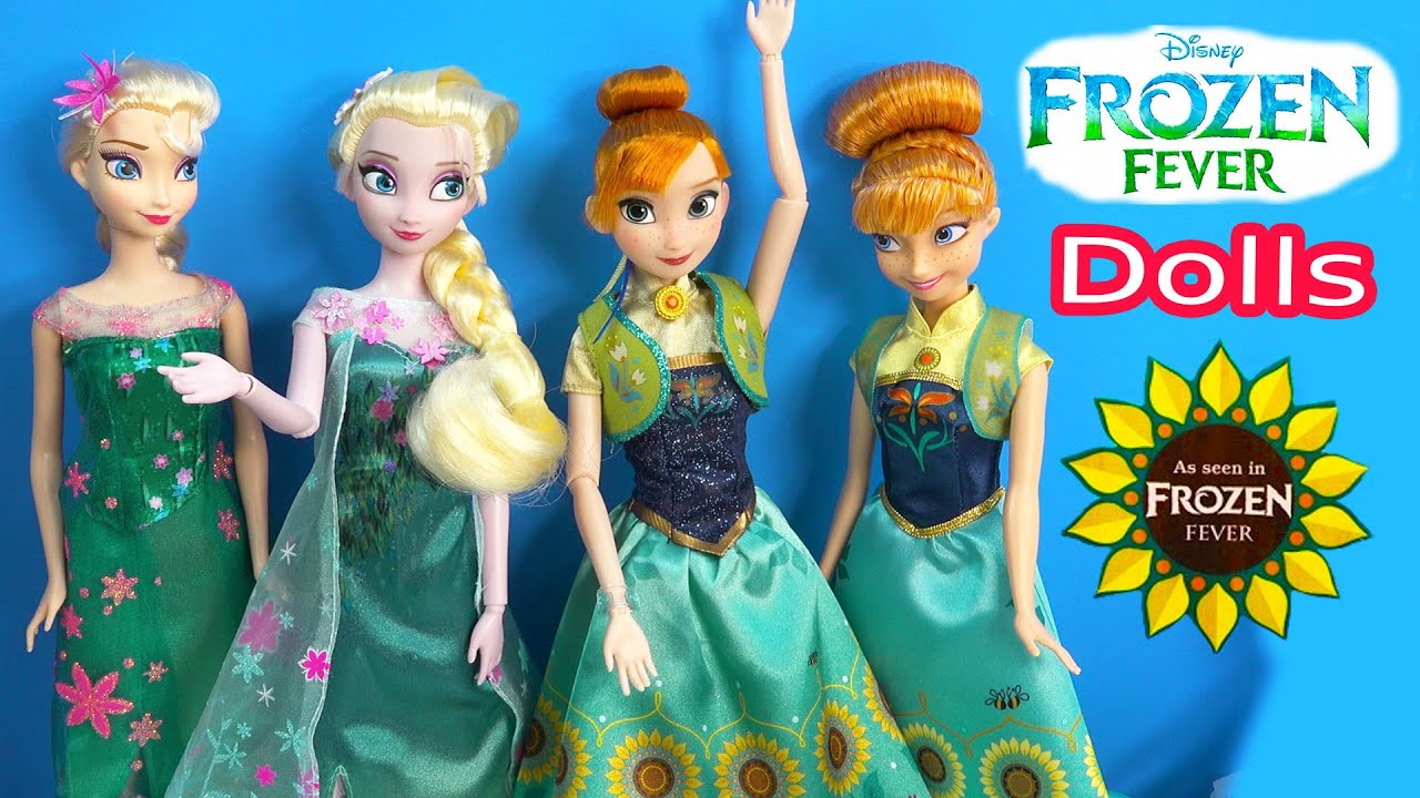 Queen Elsa FROZEN FEVER Princess Anna Disney Store Birthday Party ...