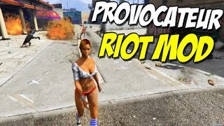 "Provocateur Mod ► ""Ped Riot Mod"" Grand Theft Auto 5 PC ( Mod Review )"