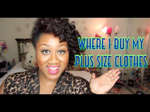 ♥WHERE I BUY MY PLUS SIZE CLOTHES!!! - YouTube