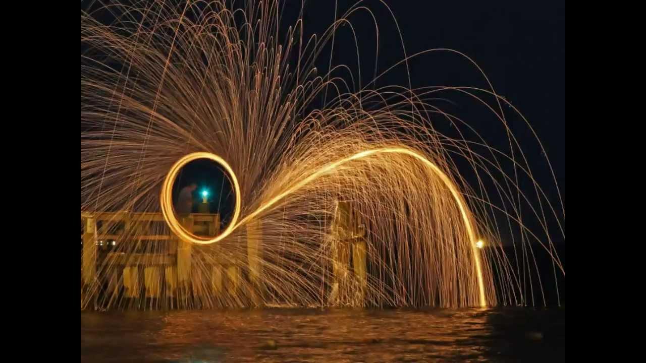 Steel Wool Photography Tutorial - YouTube