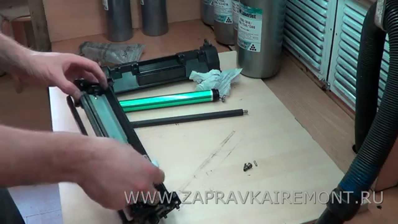 заправка картриджа в принтере hp 2050 а фотоинструкция