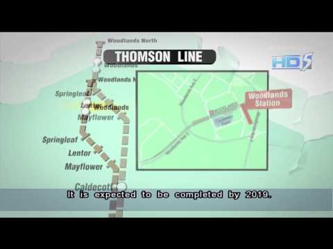 Works on three Thomson Line stations to start next year - 18Oct2013