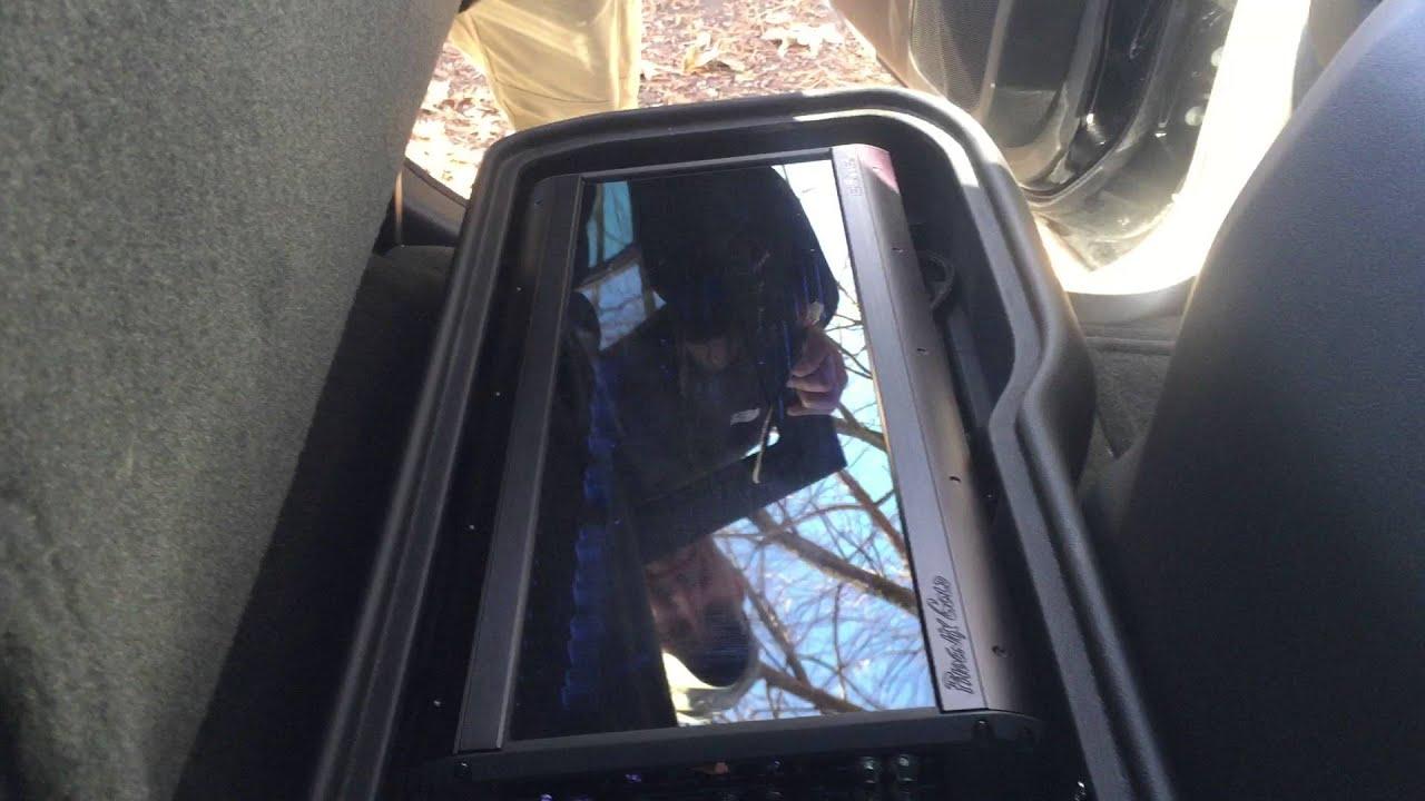 2014 Sierra Denali Elite build. Subwoofer/amp portion ...