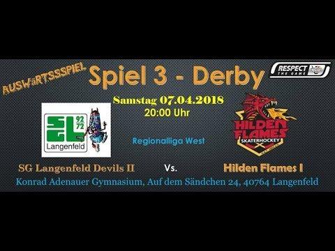 SG Langenfeld Devils vs  Hilden Flames