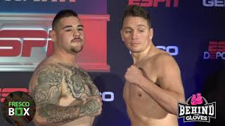 OSCAR VALDEZ VS SCOTT QUIGG FULL UNDERCARD WEIGH-IN