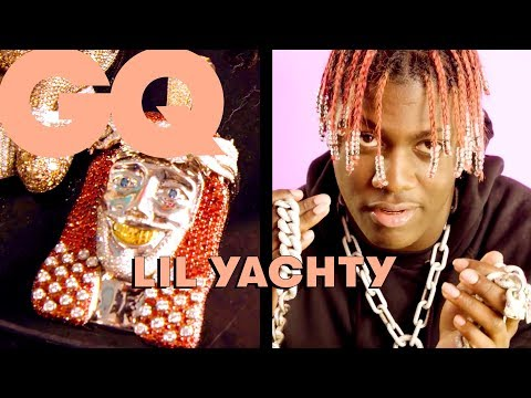 Lil Yachty dévoile son incroyable collection de bijoux : Offset, Yachty Christ, Popeye… | GQ