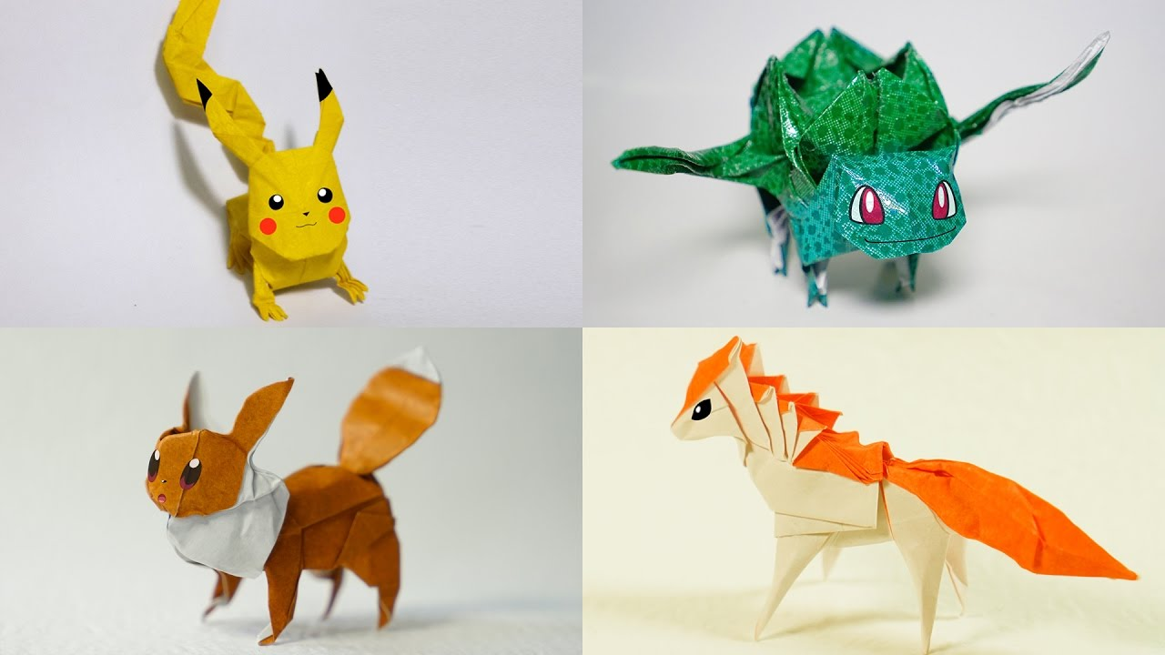 The Best Origami Pokemon