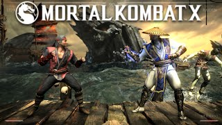 MORTAL KOMBAT X (PC) - Primer Contacto (Johnny Cage, Liu Kang, Goro) || Gameplay en Español