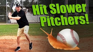 How To Hit A Slow Pitcher! (MLB Hitter shares his Secrets!)