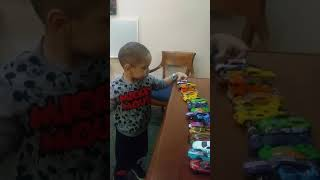 Radiation days playing with cars Oct 2017