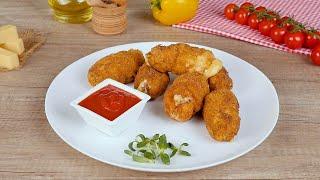 Сырные палочки с куриным филе - Рецепты от Со Вкусом