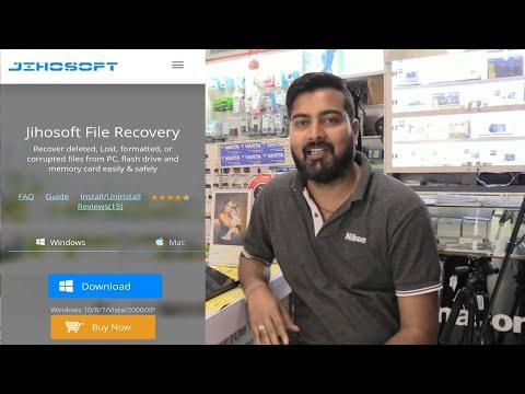 Best File Recovery Software 2019! JIHOSOFT