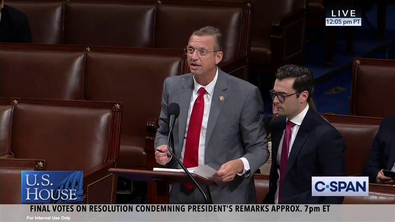 07 16 19 Collins Requests Speaker Pelosi's Words Be Taken Down