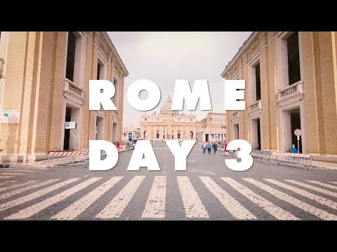 2018 Adventure! Rome Day 3: The Vatican Museum