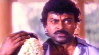 Alluda Majaka Scene - Sitaramudu Fight With Police Officers - Chiranjeevi, Ramya Krishna