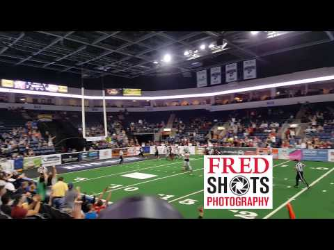Texas Revolution Touchdown Run!   Fredshots 469-718-9749