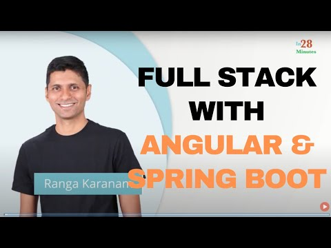 Full Stack Development with Spring Boot and Angular