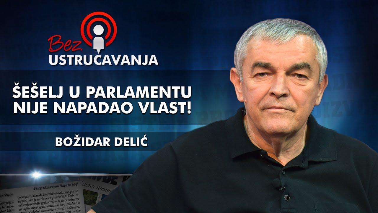 Božidar Delić - Šešelj u parlamentu nije napadao vlast!