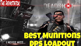 DCUO - Best Munitions Dps Loadout (Stats Revamp)