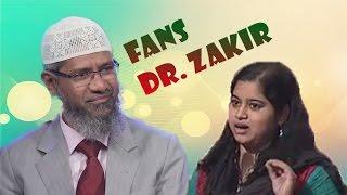 Wanita Hindu Ini Adalah Fans Berat Dr. Zakir Naik