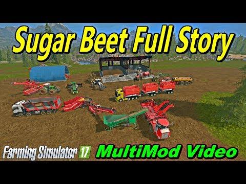 Farming Simulator 17 SUGAR BEET STORY