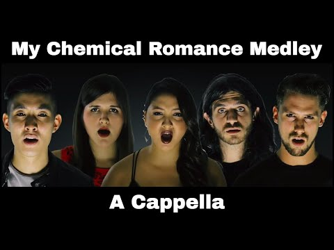 My Chemical Romance Medley  Welcome To The Black Parade  Helena  Im Not Okay A Cappella