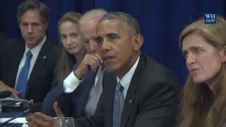 President Obama and Prime Minister Haider al-Abadi