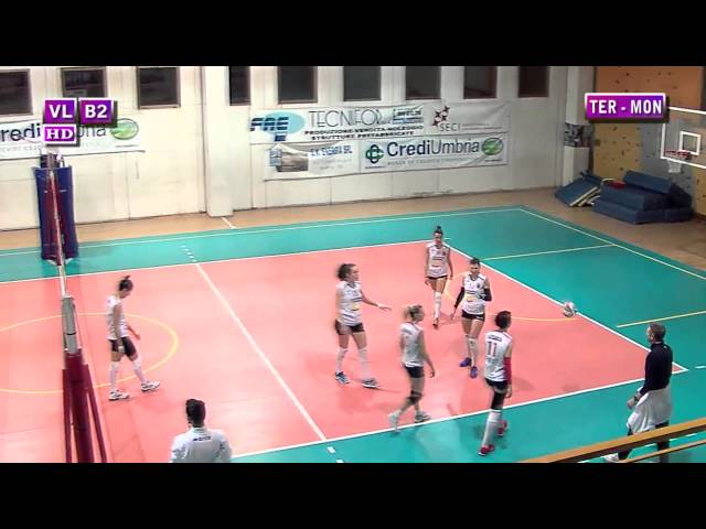 Ternana vs Montesport FI - 1° Set