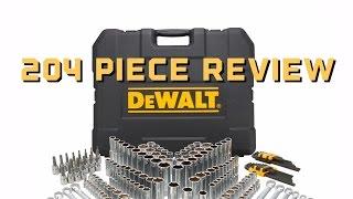 Review Sears Dewalt 204 Mechanic Tool Set - DWMT72165 - Bundys Garage